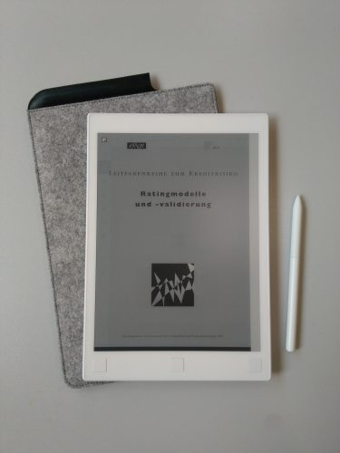 View of a PDF