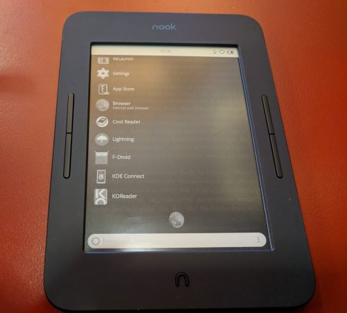 Nook Glowlight 3 Nook Glowlight 3 – Launcher